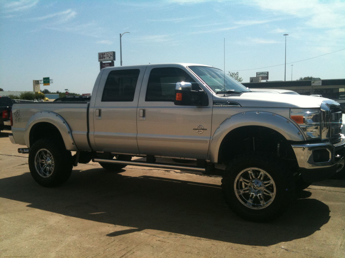 2004 F350 How Much Lift For 37 Tires Autos Post Ford F 250 With 35 Inch Leveled F250