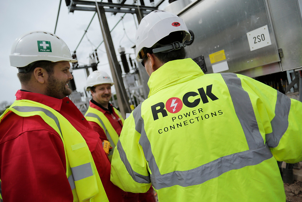 We recruit the very best electrical engineering talent and professionals across all areas of our business. And as such, each member of our Rock Power Connections team is an ambassador for quality, safety and excellence in customer service.