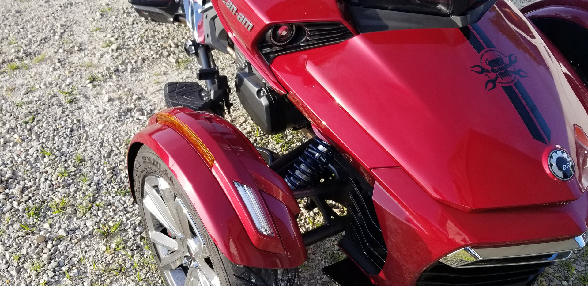 M2.Shocks for Can Am Spyder