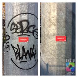 Suppression de tags ou graffiti