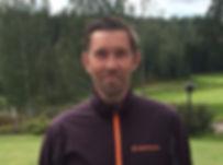 golfopettaja Bosse Backman