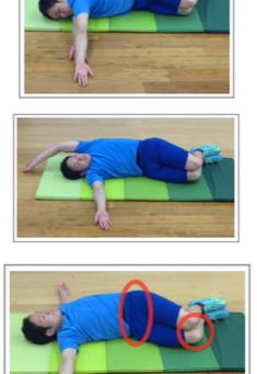 胸椎の伸展ストレッチ