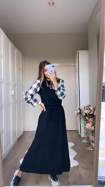 Kollari Kase Triko Elbise