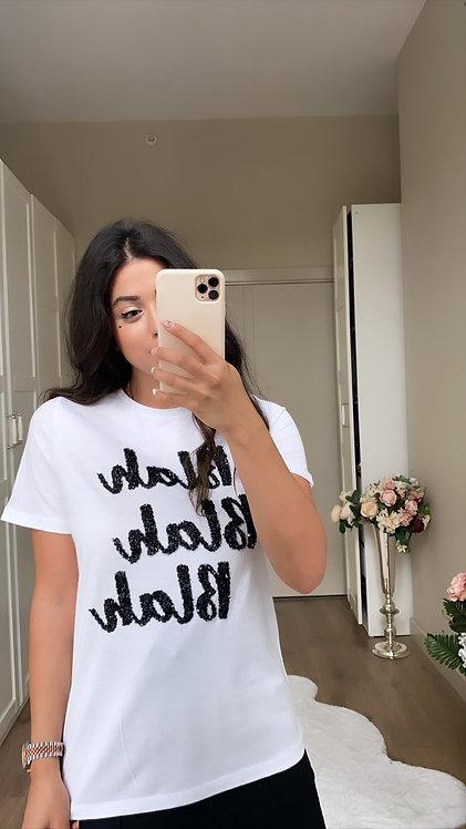 Black Payetli T-shirt