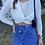 Thumbnail: Dugumlu Crop Bluz