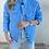 Thumbnail: Mavi kapitone Astarli mont ceket