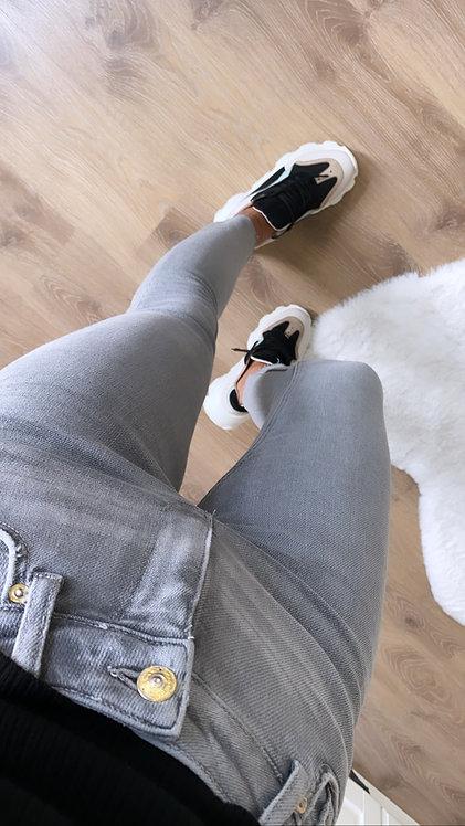 Gri Push Up Jean