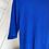 Thumbnail: Saks mavi triko basic elbise