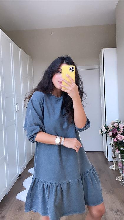 Fume Yikamali Sweat Elbise