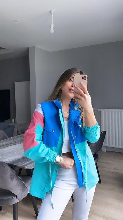 Garnili Renkli Ceket