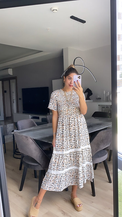 Papatya Gipeli Elbise