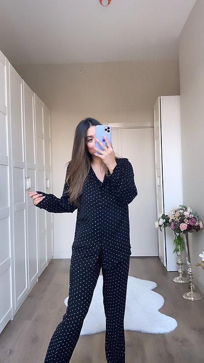 Puanli Pijama Takimi