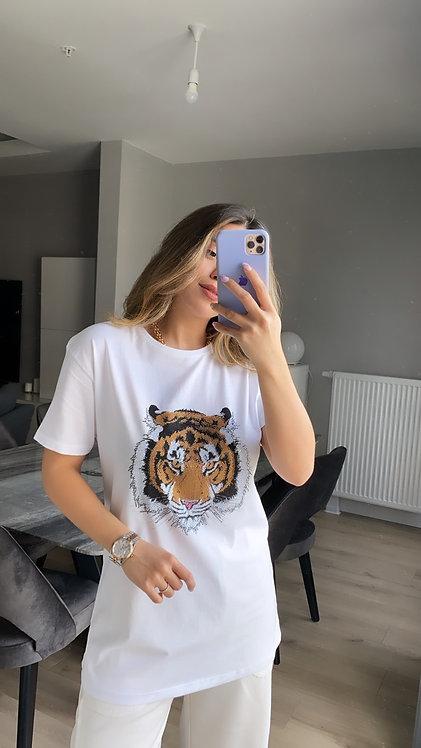 Kaplanli Tasli Tshirt