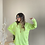 Thumbnail: Neon cizgili salas triko