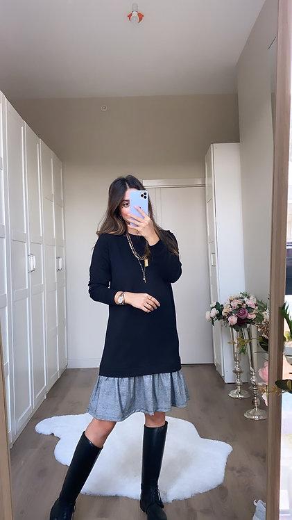 Alti Ekoseli Elbise
