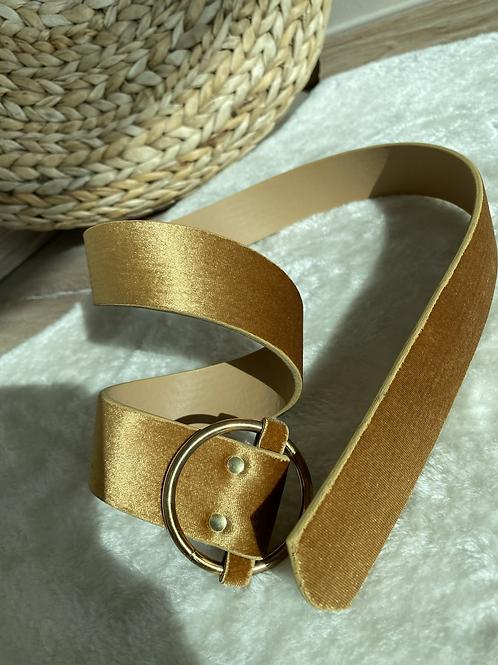 Gold tokali gold kadife kemer