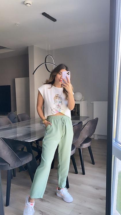 Mint Basic Ipek Pantolon