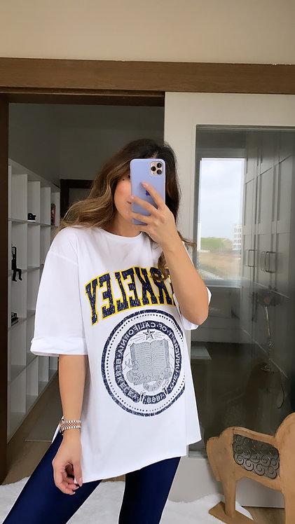 Beyaz Berkeley Tshirt
