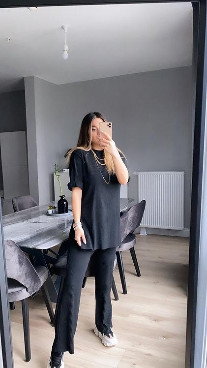 Siyah kaskorse Basic takim