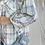 Thumbnail: Ince mavili cizgili Tuvit Salas ceket
