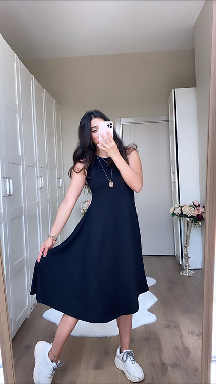 Asimetrik Kaskorse Elbise