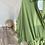 Thumbnail: Kolu firfir detayli yag yesili baglamali ceket gomlek