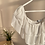Thumbnail: Beyaz madonna kat kat sifon elbise