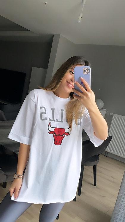 Bulls Reflektorlu Tshirt