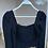 Thumbnail: Lastik detayli uzun kollu crop bluz
