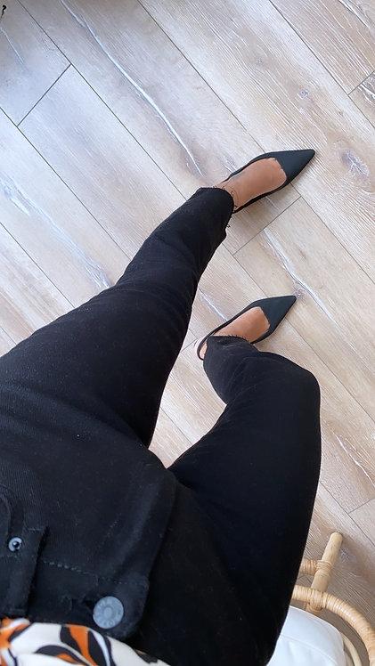 Siyah boyfit jean