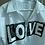 Thumbnail: Love payetli fermuarli gomlek