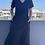 Thumbnail: Siyah v yaka basic Elbise