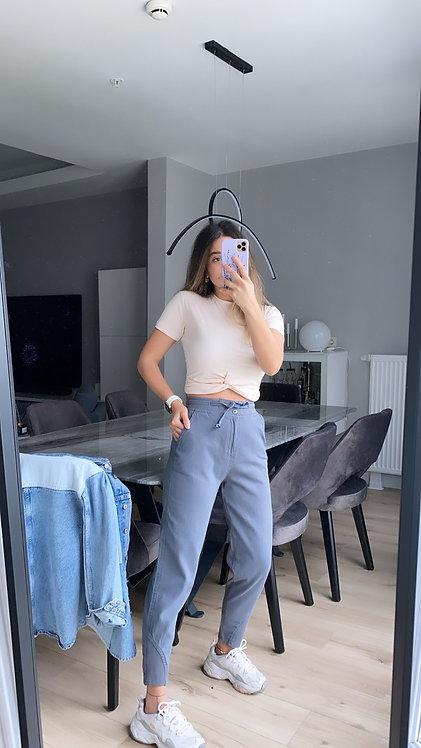 Antrasit Yikamali Pantolon