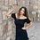 Thumbnail: Siyah gipe Elbise