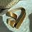 Thumbnail: Gold tokali gold kadife kemer
