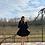 Thumbnail: Siyah Krep Kilos Elbise