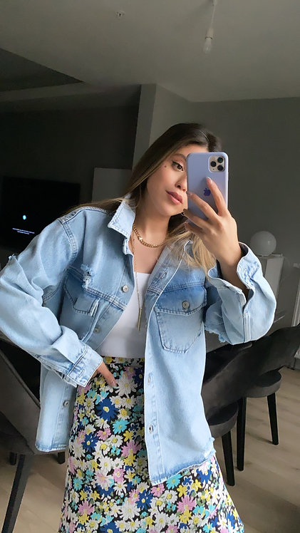 Basic oversize Kot ceket
