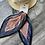 Thumbnail: Mavi pudra desenli Fular