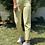 Thumbnail: Sari Lastikli Cift dugme pantolon