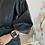 Thumbnail: Siyah deri kemerli elbise
