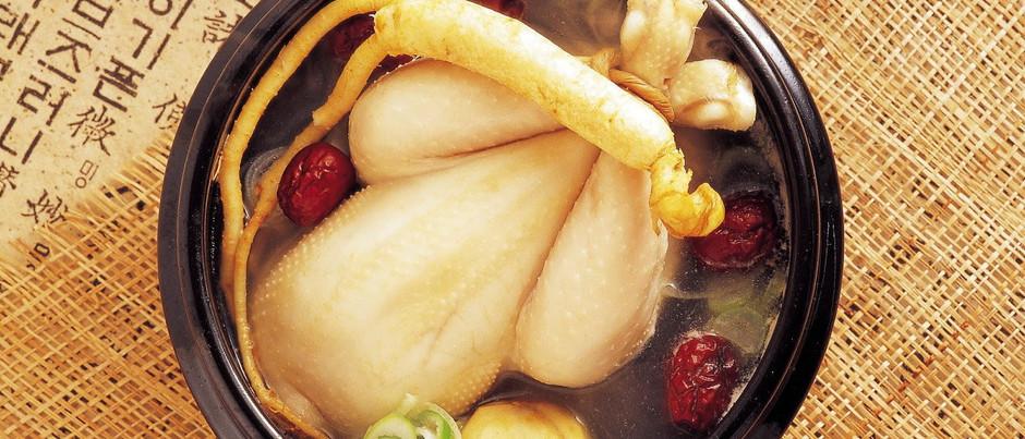 Самгетанг — Корейский суп с женьшенем
