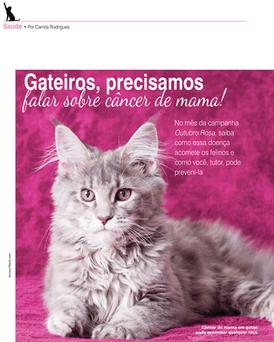 Entrevista Tumor de Mama em Gatas - Revista Pulo do Gato