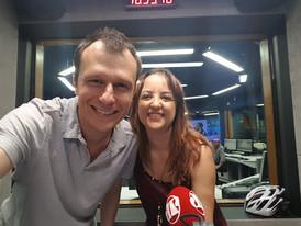 Entrevista na rádio Jovem Pan com Alexandre Rossi