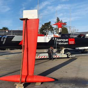 Valentine Gautier: Louis is sailing uninhibited...