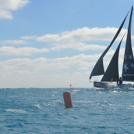 They're off! IRC/Multihull fleet make way to Montego Bay Yacht Club!