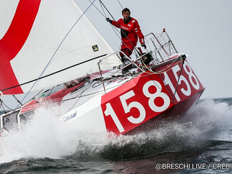 """Let's open the debate"" Ian Lipinski talk's SCOW Bows and the Vendée Globe"