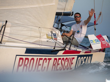 Axel Tréhin << I cannot imagine racing offshore without a commitment to our oceans >>