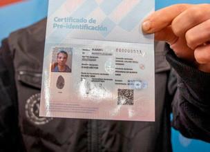 Así será el certificado de pre identificación para quienes no posean DNI