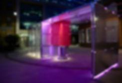 wr-ap be well pavilion night shot - clerkenwell design week 2019