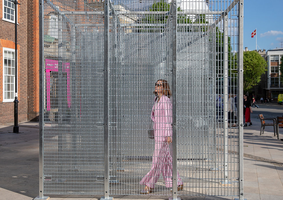 wr-ap be well pavilion photograph - clerkenwell design week 2019